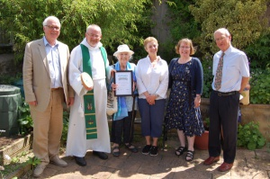ECO Church Ward Certificate